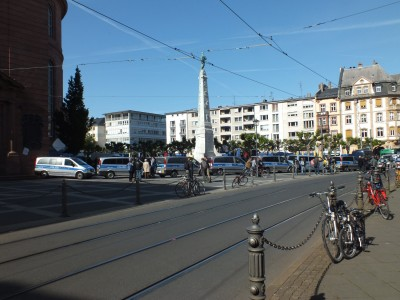 Der Paulsplatz in Frankfurt