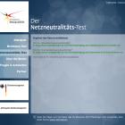 Ergebnis Netzneutralitätstest