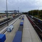 Das DUSS-Terminal in Hamburg-Billwerder