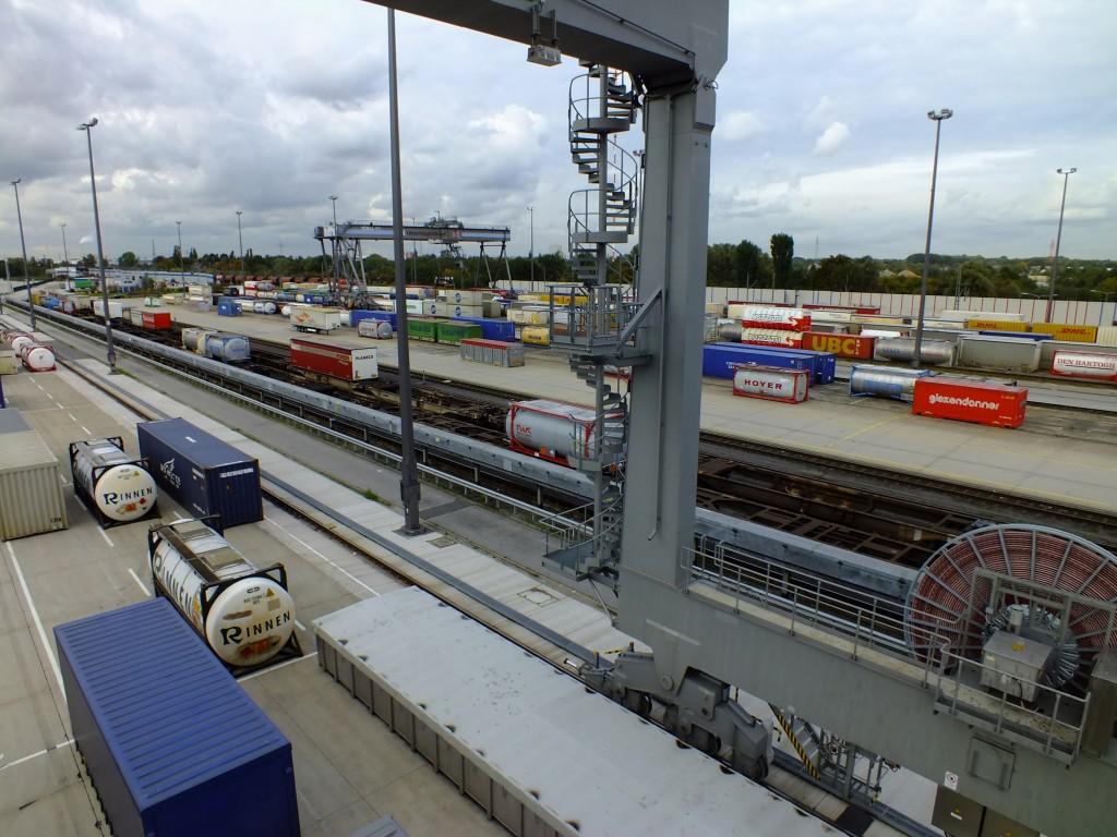 Blick über den DUSS Hamburg Billwerder