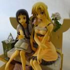 Asuna und Yui aus Sword Art Online