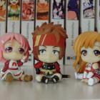 Lisbeth, Klein und Asuna - Sword Art Online