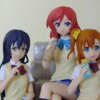 Umi Sonoda, Maki Nishikino und Honoka Kousaka